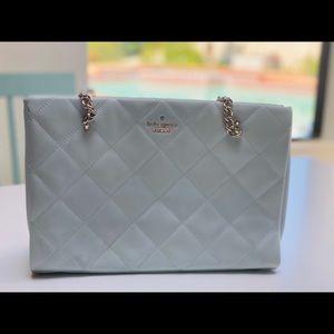 Kate Spade aqua leather purse